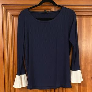 J.Crew Long Bell Sleeve Top